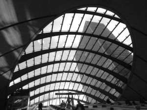 plafon, oraş, futurist, geometrice, arhitectura, constructii, afaceri