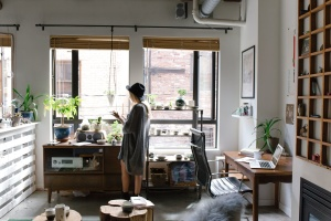 windows, woman, apartment, female, house, interior, design