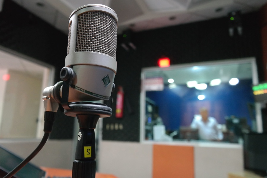 microphone, music, recording, studio, sound