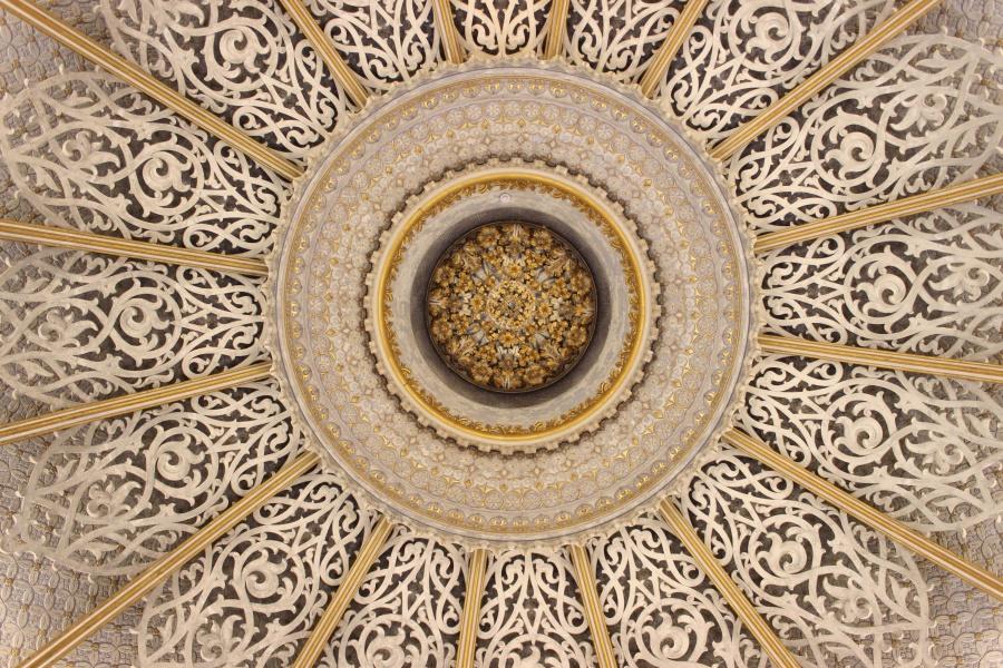 interior design, abstract, antique, architecture, art, ceiling