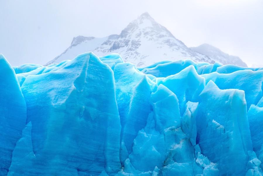 sky, snow, cold, glacier, ice, iceberg