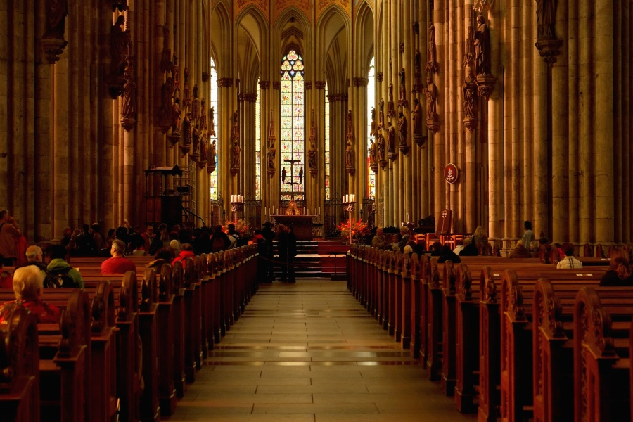 building, altar, arches, architecture, cathedral, catholic, christian