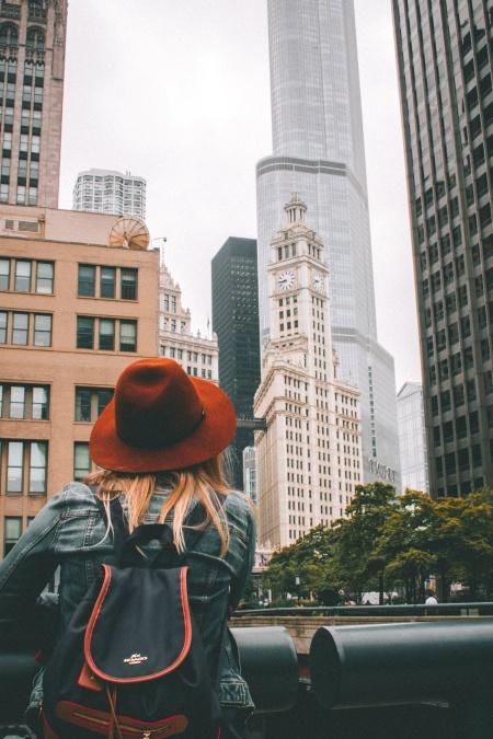 women, street, urban, woman, architecture, buildings, city