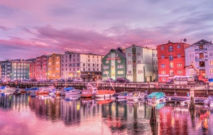 travel, sea, sky, architecture, boats, buildings, city