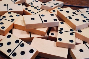 dominoes, game, recreation, strategy, table, tiles