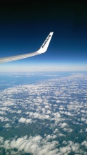 cloud, horizon, aircraft, sky