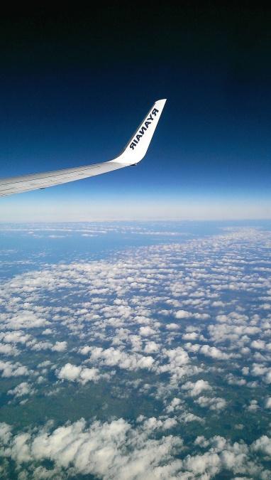 cloud, horizon, aircraft, sky