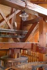 Holz, Glühbirne, Windmühle, Innenraum