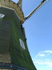 Menara, kincir angin, langit, jendela, mill, arsitektur