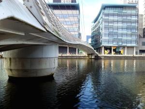 градски, вода, архитектура, мост, сграда, строителство