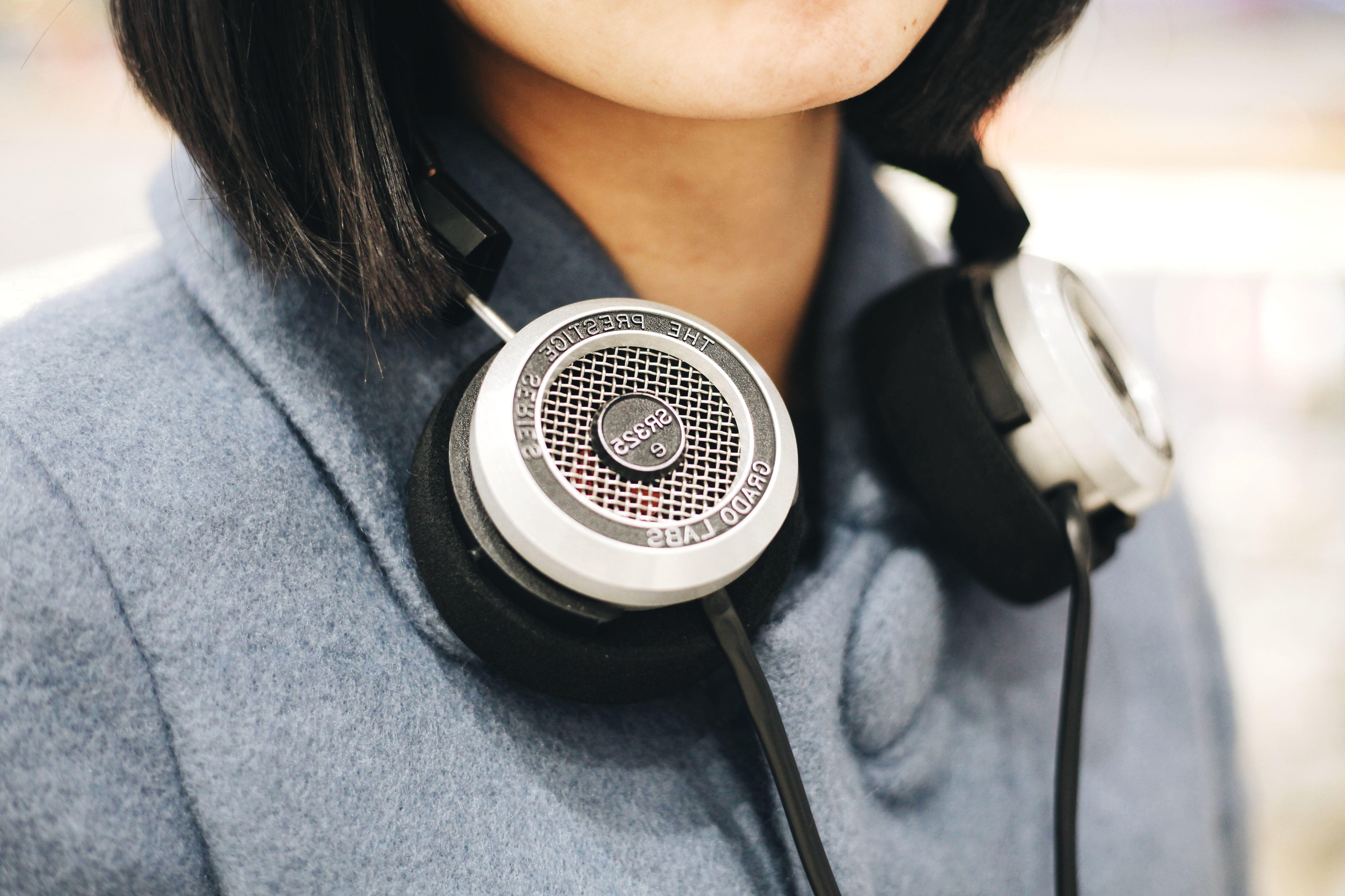 Image Libre Casque Découte Musique Personne Technologie Fille