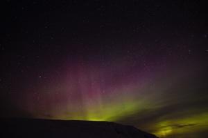 priroda, noć, fenomen, zvijezde, aurora borealis, nebo