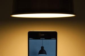 mobile phone, screen, smartphone, lamp, light