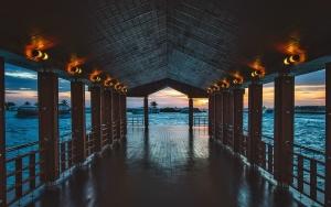 acqua, mare, architettura, baia, spiaggia, Ponte