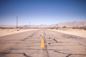 road, sand, travel, asphalt, barren, desert, highway