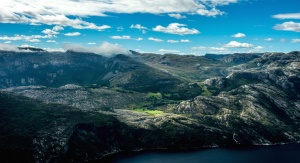 mountain, nature, cloud, landscape, valley