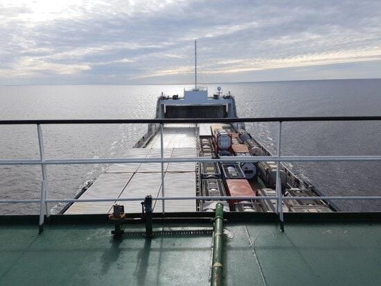 xe, nước, bay, thuyền, hàng hóa, phụ trách, đám mây, container