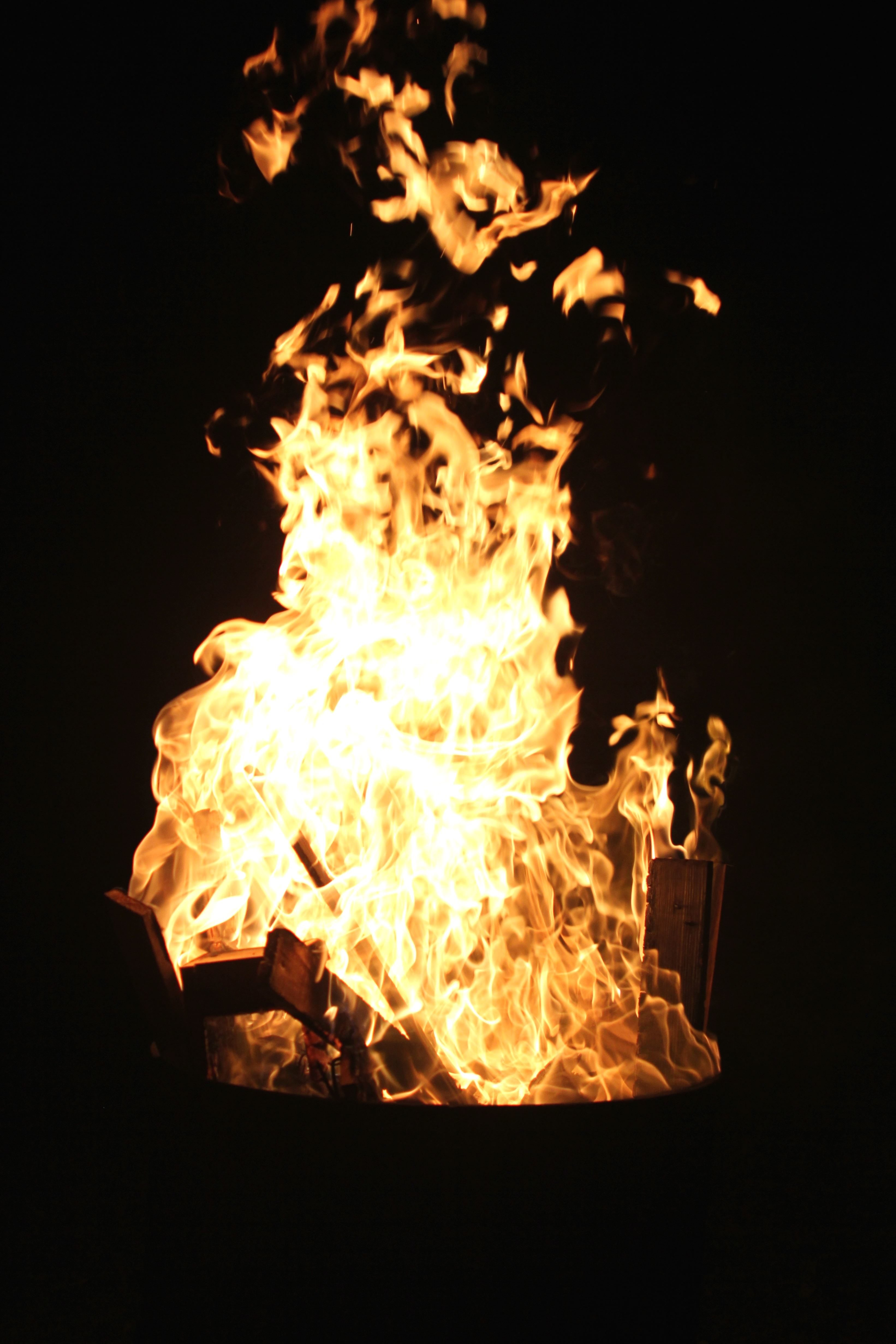 Image libre bois de chauffage, flammes, chaleur, chaud  ~ Pollution Feu De Bois