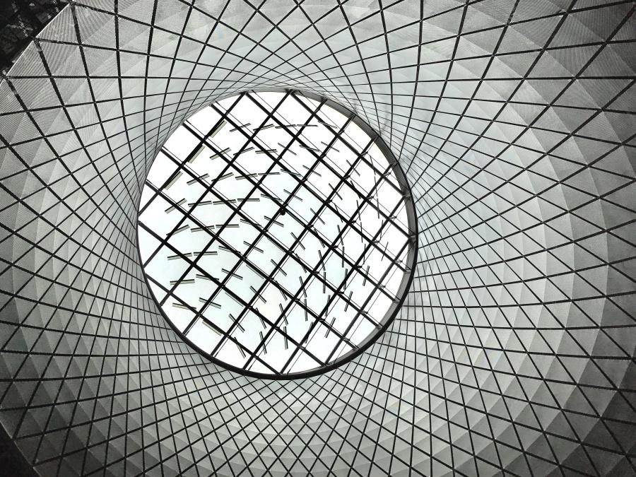 thép, trừu tượng, kiến trúc, nghệ thuật, hình học