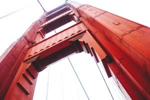 puente, arquitectura, estructura, cielo, acero