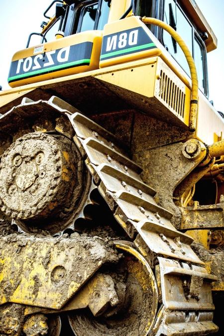 industry, machine, bulldozer, construction, construction, mud, vehicle