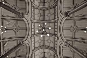 nội thất, trần, đèn chiếu sáng, cột, cấu trúc, kiến trúc, trần, đèn chùm, treo