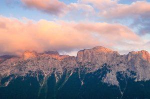 자연, 바위, 산, 구름, 산