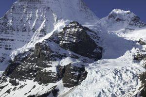 산, 눈, 겨울, 감기, 자연, 바위