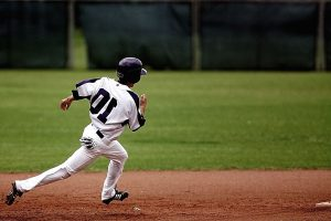 field, game, grass, helmet, baseball, league, sport, stadium, uniform
