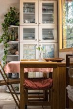 residence, room, seat, table, interior, design, kitchen, window, wood