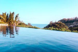 나무, 열 대, 휴가, 물, 해변, 카리브 해, 하늘, 지평선