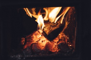 quemadura, llama, ceniza, blaze, bonfire, humo, fuego