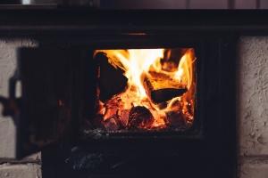flamme, drivstoff, varme, komfyr, fire, tre, aske, brenne