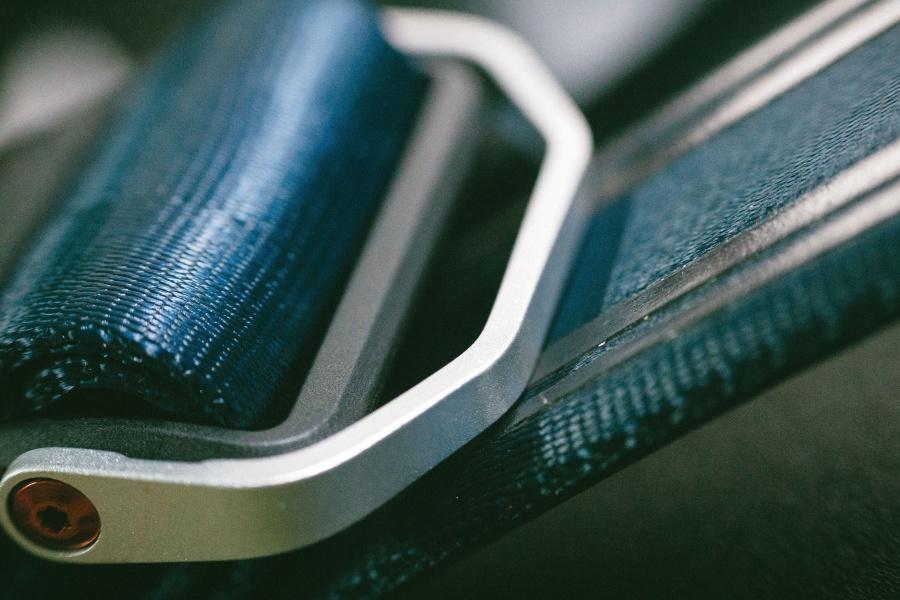 equipo, cinturón, hebilla, industrial, industria, material, nylon