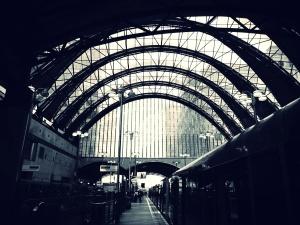 viajes, túnel, urbano, arcos, edificios, negocios, arquitectura, ciudad