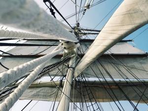 plachetnice, lodě, plavidla, stožáry, lano