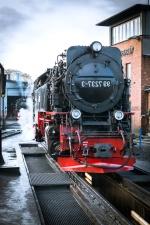 estación de transporte, motor, histórico, industrial, locomotora de tren