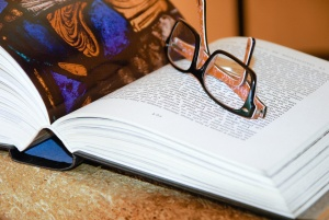 knowledge, page, paper, reading, research, book, eyeglasses