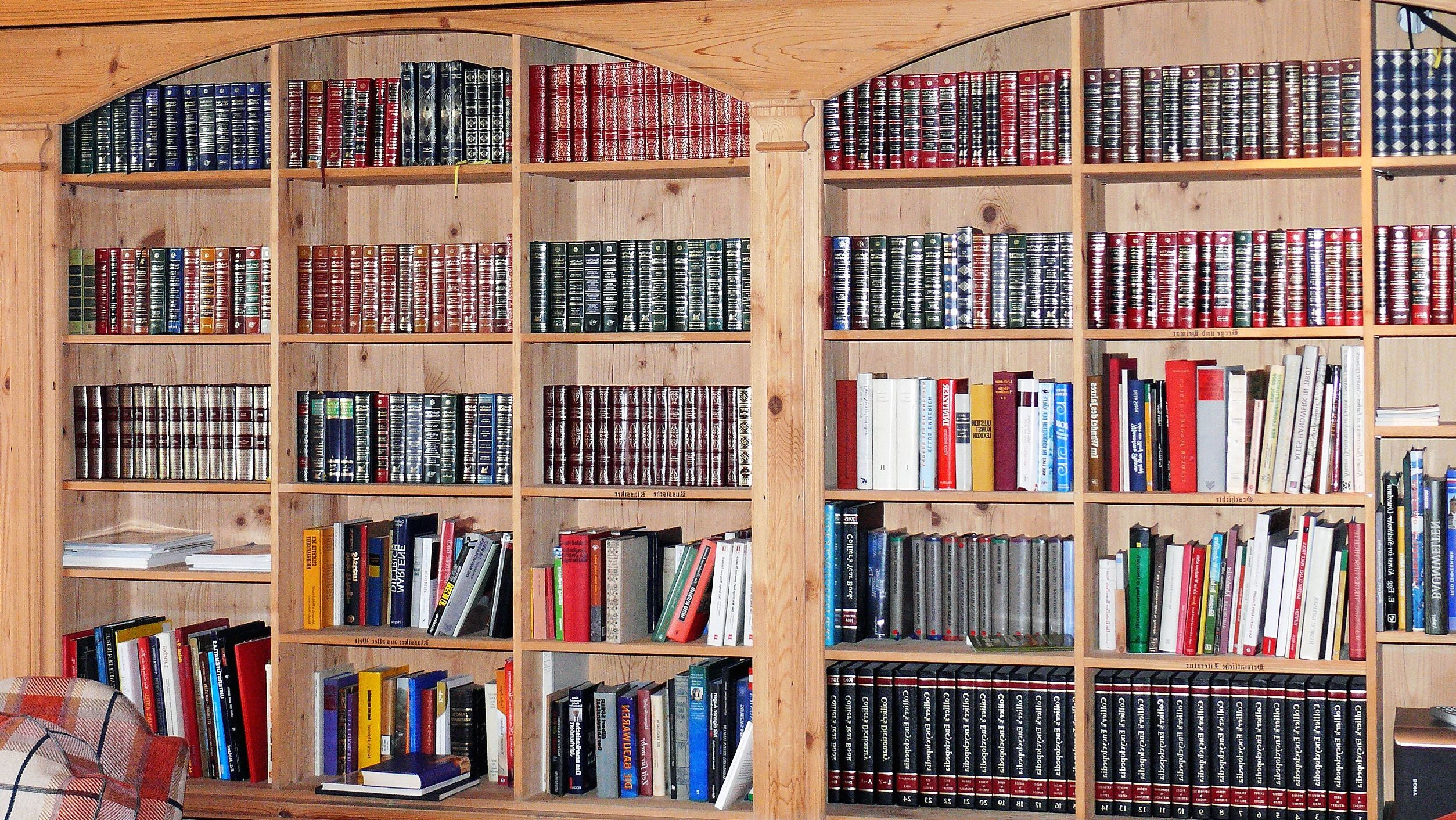 Free Picture Book Wall Bookcase Books Library Room