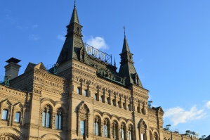 Resor, urban, fasad, gotiska, historiska, himmel, byggnad, slottet
