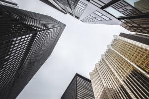 steel, technology, urban, architecture, city, futuristic, glass