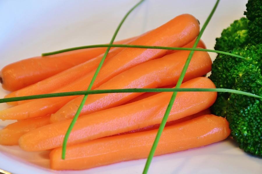 Möhren, Gemüse, vegetarisch, Vitamine, Lebensmittel, frisch, Salat, Ernährung