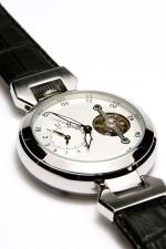 reloj de pulsera, caro, lujo, precisión, plata, tiempo, cromo, elegante