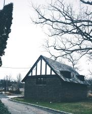 pohon, jendela, kayu, arsitektur, aspal, bangunan, bungalow
