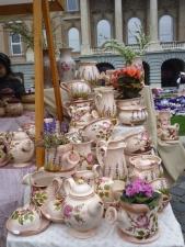 ấm trà, đồ gốm, các đối tượng, bảng