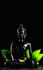 statue, lotus, religion, buddha, ceramic, sculpture