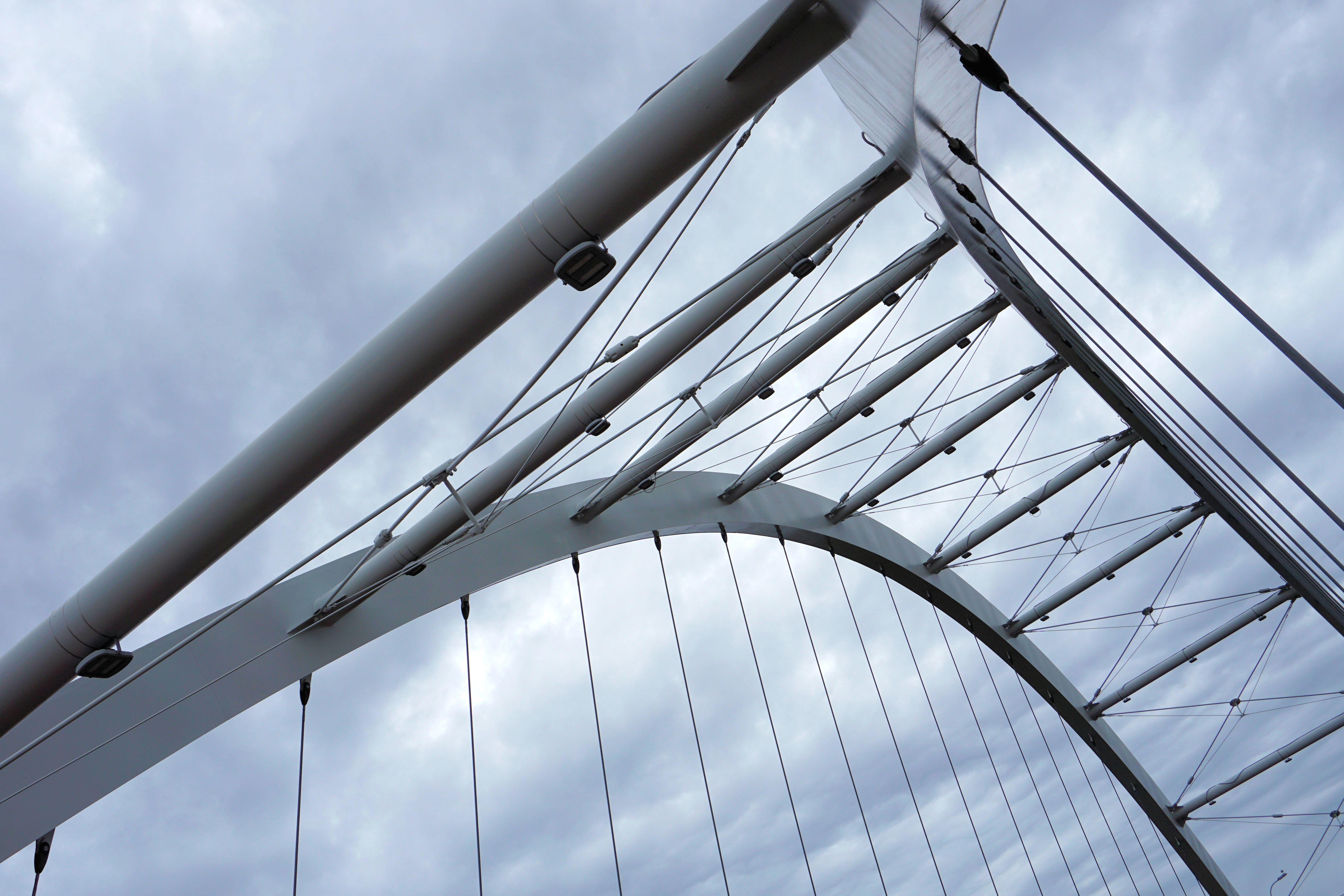 Free Picture Futuristic Architecture Bridge Building