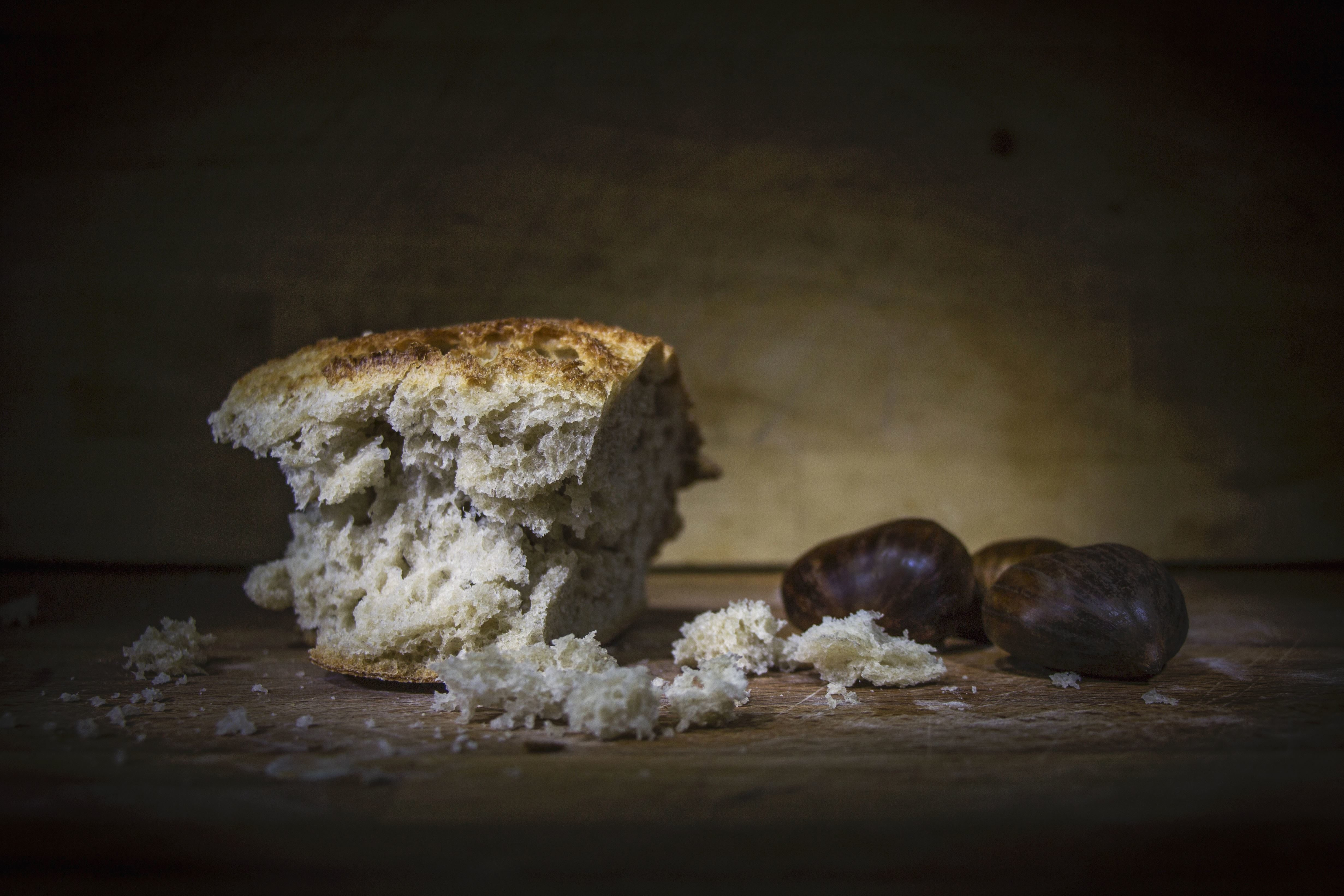 Free Picture Food Fruit Still Life Nuts Bread Crumbs