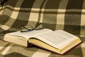 eyeglasses, knowledge, page, book