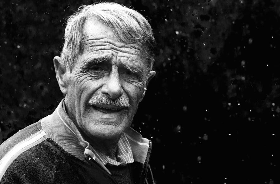 grandfather, man, mustache, old, person, portrait